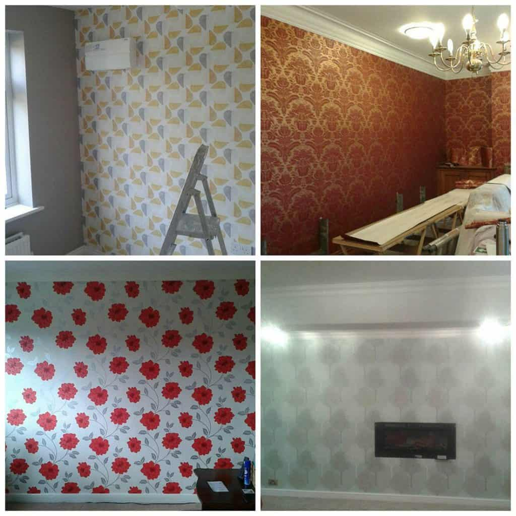 decorating services in droitwich wallpapering