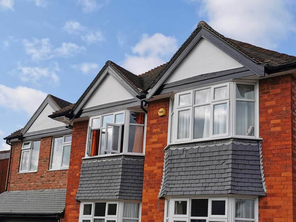 Exterior house painting gables